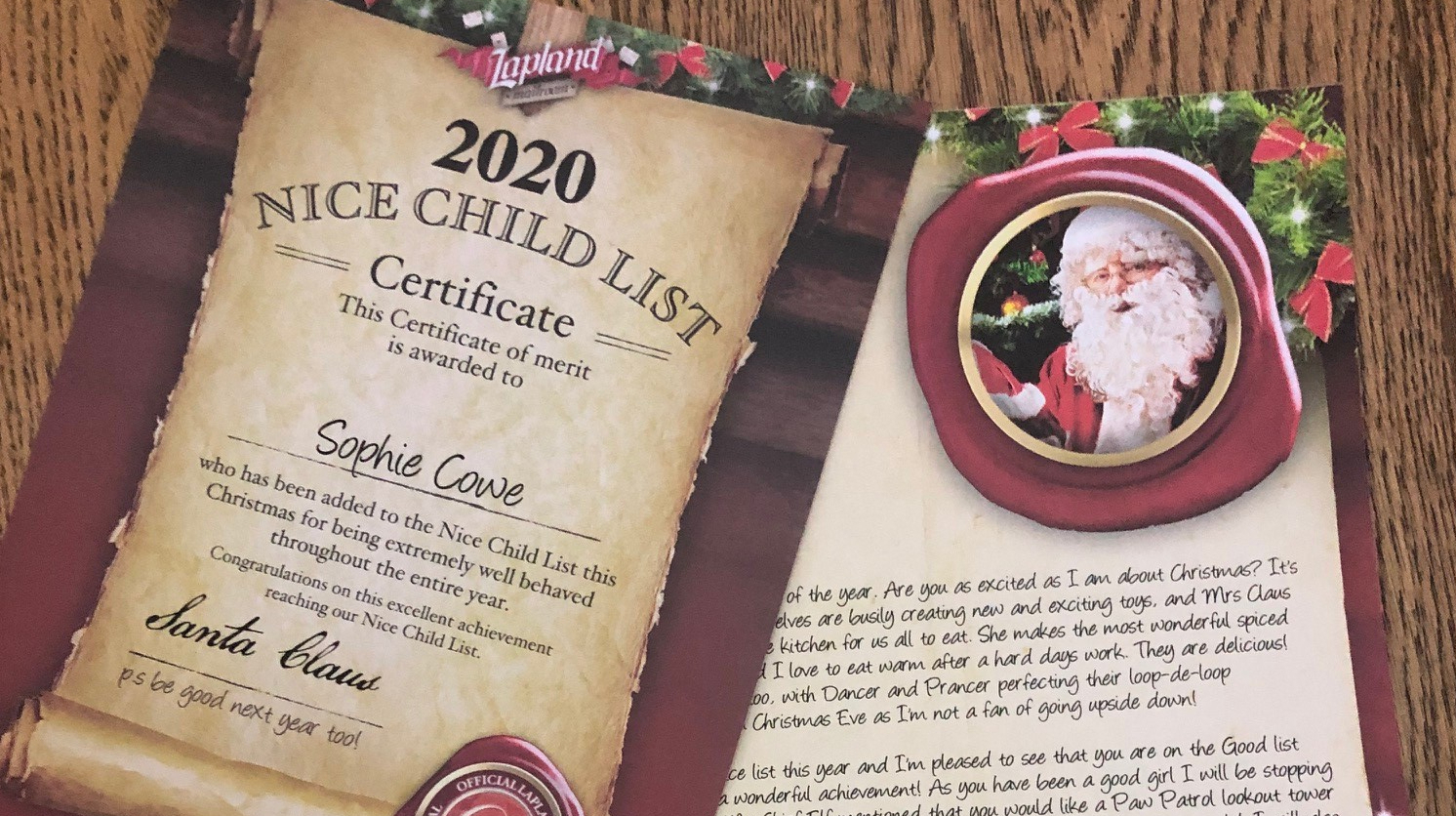 Letter From Santa Lapland Mailroom Review Mini Moo Life